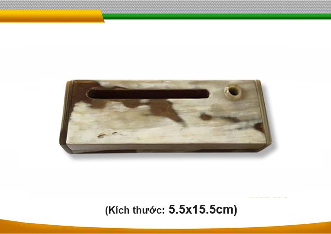 hộp bút sừng bò nước handmade đẹp độc đáo