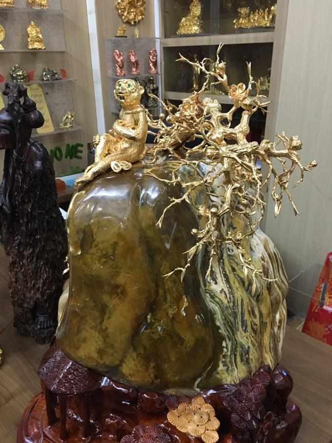 khỉ vàng đá mã lão đế gỗ hương đẹp cao cấp nhất tại hà nội
