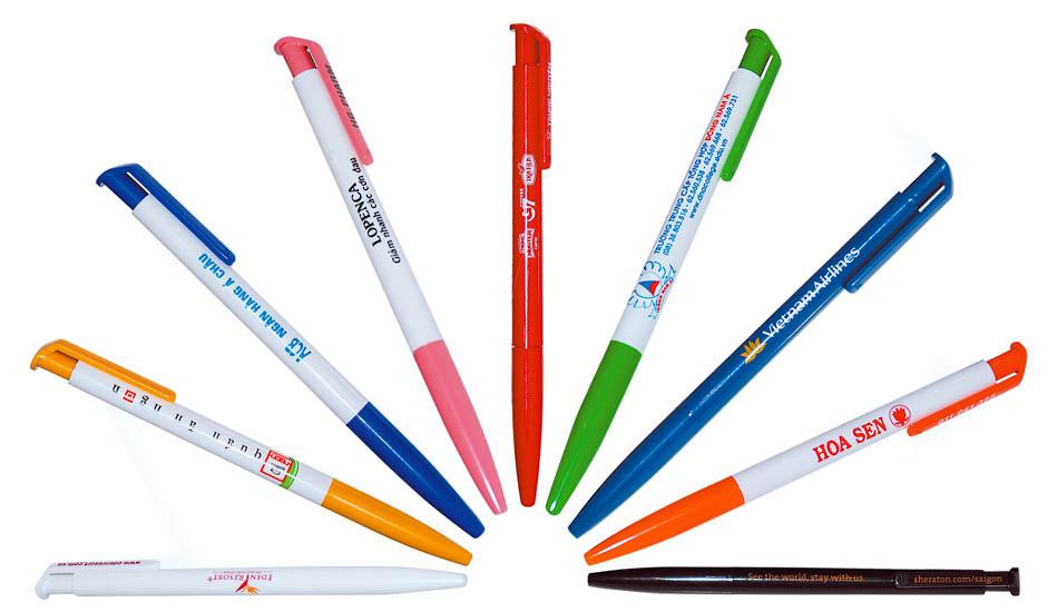 in trên bút bi khuyến mại đẹp giá rẻ nhất hà nội