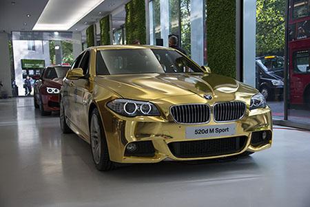 Mạ vàng ô tô giá tốt nhất Hà Nội