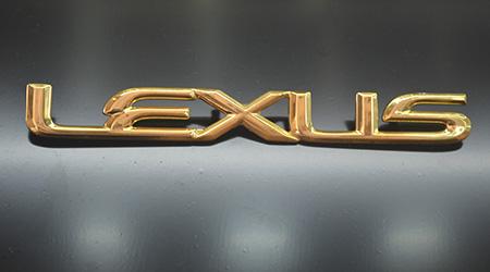 Mạ vàng logo ô tô tại Thiên Long ADV